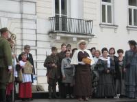 95. rocznica nadania miastu Krzyża Walecznych - widowisko historyczne / fot.: J.Waćkowski