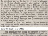 O fabrykację amunicji w Płocku