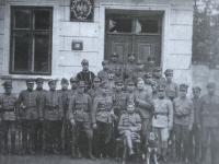 Pluton Żandarmerii Wojskowej w Płocku / źródło: Supeł C. - Płock 1920. Warszawa 2010