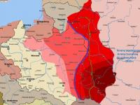 Bolszewicy prą na zachód / źródło: histmag.org