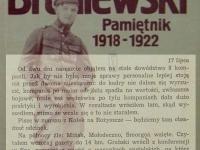 Wpis z 17 lipca / źródło: Broniewski W. - Pamiętnik 1918-1922. Warszawa 1984