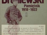 Wpis z 24 lipca / źródło: Broniewski W. - Pamiętnik 1918-1922. Warszawa 1984