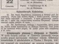 Aresztowanie płocczan i sierpczan w Tczewie