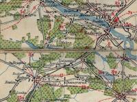 Mapa Samochodowa Rzeczypospolitej Polskiej 1923 r.  / źródło: igrek.amzp.pl