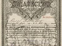 Świadectwo Długoterminowej Pożyczki Państwowej / źródło: blog.starepapiery.com