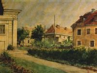 Teatr Miejski / źródło: Helena-Jawniszko -1866-1935 malarstwo i rysunek. Płock 1993
