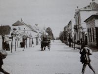 Ulica Kościuszki / źródło: Nasze Korzenie 2015 r. nr 8 s. 46