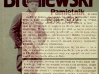 Wpis z 25 lipca / źródło: Broniewski W. - Pamiętnik 1918-1922. Warszawa 1984