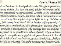 Fragment wspomnień W. Zaborowskiego / źródło: Szatkowska L. -  Szara legenda. Płock 2010