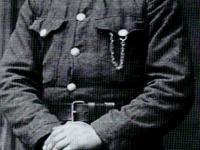 Majster brukarski plutonowy Stanisław Karpiński. Walczył w 2. Pułku artylerii polowej / źródło: Łakomski M. - Fachowcy z Płocka...,  Płock 2012