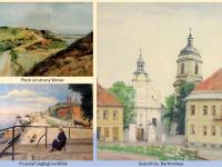 Sielski obraz Płocka w malarstwie Heleny Jawniszko / źródło: galeria.plock24.pl