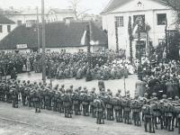 Nie widząc szans obrony 28 lipca ewakuowano wojsko polskie z Białegostoku / źródło:  ddb24.pl