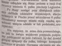 Święto Wojskowe w  Płocku