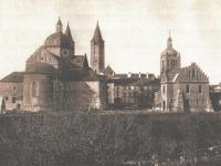 Bazylika Katedralna / źródło: Rzymkowski R. - Płock na starych pocztówkach i fotografiach z lat ok. 1900-1918. Płock 2018