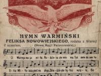 Hymn Warmiński Feliksa Nowowiejskiego / źródło: edd.nid.pl
