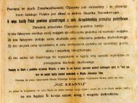 Plakat propagandowy Nie kradnij / źródło:  Sto dokumentów na stulecie  Archiwum Państwowego w Płocku. Płock 2019