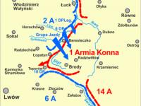 29 lipca 1920 r. 6 pp brał udział w bitwie pod Brodami / źródło: wikipedia.org