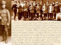 Karol Cholewiński muzyk batalionu zapasowego 6 pp Legionów / źródło: Cholewiński K. - Podolszyce - tu wracałem. Płock 2013