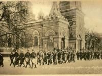 Zmiana warty 1914 r. / źródło: Rzymkowski R. - Płock na starych pocztówkach i fotografiach z lat ok. 1900-1918..., Płock 2018