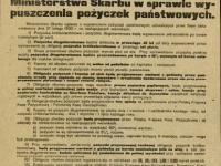 Pożyczka Odrodzenia Polski / źródło: Polona