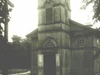 Stary kościół w Imielnicy / źródło: Nasze Korzenie 2013 r. nr 4, s. 26