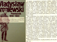 Wpis z 4 sierpnia 1920 r. / źródło: Broniewski W. - Pamiętnik 1918-1922 Warszawa 1984