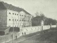 Więzienie w Płocku / źródło: Nowowiejski A.J. - Płock monografia historyczna. Płock 1931