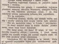 Rozkaz gen. Józefa  Hallera