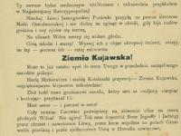 Ulotka Pogotowia Wojennego Ziemi Kujawskiej 1919 / źródło: Polona