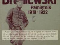Wpis z 4 sierpnia 1920 r. / źródło: Broniewski W. - Pamiętnik 1918-1922 Warszawa