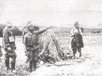 Gen. J. Haller na froncie / źródło: Skaradziński B. - Polskie lata 1919-1920 t.2 Warszawa 1993