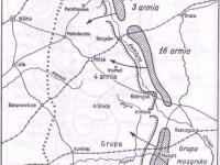 Początek ofensywy Tuchaczewskiego na Białorusi / źródło:  Czubiński A. -  Wojna polsko-rosyjska 1919-1920  WBC