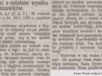 Józef Piłsudski o ostatnim wysiłku bolszewików