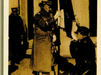 Józef Piłsudski 1920 r. / źródło:  Wyrzycki S. - Józef Piłsudski na dawnej karcie pocztowej i fotografii, Kielce 2012