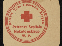 Polskie Towarzystwo Czerwonego Krzyża 1920 / źródło: Polona