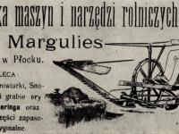 Produkty z firmy Marguliesa / źródło: 100 lat przemysłu maszyn rolniczych w Płocku. Warszawa 1972