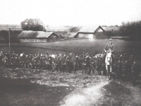Polski odwrót z Białorusi / źródło: Skaradziński B. - Polskie lata 1919-1920. T. 2 Warszawa 1993