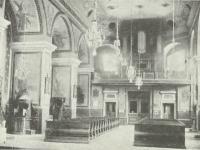 Wnętrze Fary / źródło:  Nowowiejski A.J. - Płock monografia historyczna. Płock 1931
