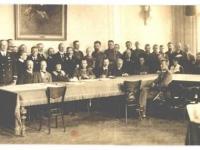 Posiedzenie Rady Obrony Państwa latem 1920 r. / źródło: Gołębiewski G. - Związki gen. Józefa Hallera i hallerczyków z Płockiem..., Płock 2018