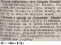 Zakup Pożyczek Odrodzenia Polski w  Płocku