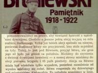 Wpis z 11 lipca / źródło: Broniewski W. - Pamiętnik 1918-1922. Warszawa 1984