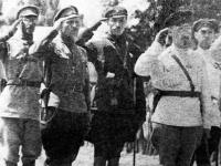 Sztab 4. Armii bolszewickiej / źródło: twojahistoria.pl