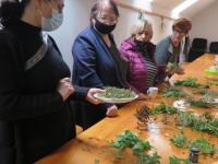 Wizyta wgospodarstwie  ekologicznym wGrzybowie / fot.: Archiwum KP