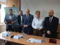 Konferencja prasowa wdziale zbiorów audiowizualnych / fot.: Archiwum KP