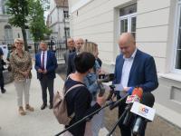Konferencja prasowa / fot.: Archiwum KP