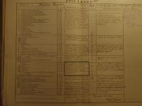 Opis zroku 1921 (Roczne uzupełnienie listy kwalifikacyjnej), fot.zezbiorów rodzinnych Pawła Hatały