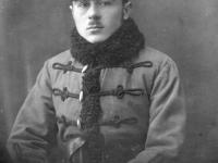 Por. Kazimierz Kozicz, dowódca 2 baterii 10 dac, / fot.zezbiorów Michała Wojciechowskiego