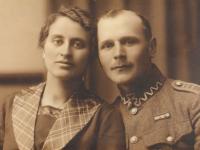 W mundurze Legionisty / fot.zarchiwum rodzinnego Wojciecha Hetkowskiego