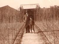 Z synem Władysławem / fot.zarchiwum rodzinnego Wojciecha Hetkowskiego