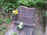 Grób kmdra Stefana de Waldena wGdyni, źródło Wikipedia